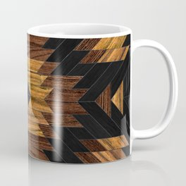 Urban Tribal Pattern 7 - Aztec - Wood Coffee Mug