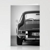 porsche Stationery Cards featuring Porsche by CABINWONDERLAND