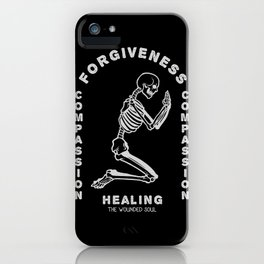 Healing the wounded soul. iPhone Case