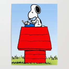 Snoopy Camp Poster
