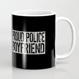 Police: Proud Boyfriend (Thin Blue Line) Coffee Mug
