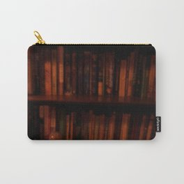 BOOKSHELF IN THE DARK Carry-All Pouch