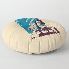 Art Institute Chicago Floor Pillow