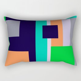Sequential Stripes #society6 #decor #buyart #artprint Rectangular Pillow