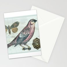 Vintage boho and bird Stationery Cards