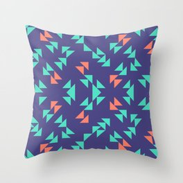 Squished Tropical Dressing #3 Throw Pillow