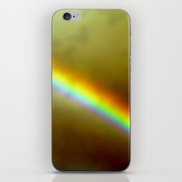 in rainbows iPhone Skin