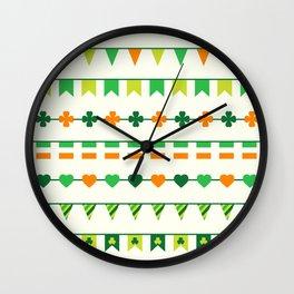 Irish, Ireland, shamrock, saint patricks day, irish gifts women, irish gift, luck of the irish, Wall Clock