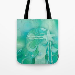 Mermaid III - Ice Queen Tote Bag