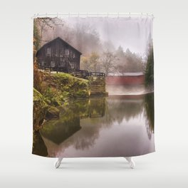 Morning at the Mill Shower Curtain