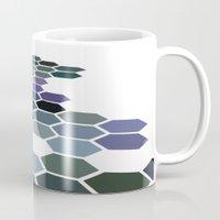 arizona Mugs featuring Arizona by Bakmann Art
