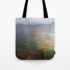 Waimea Canyon Rainbow Tote Bag