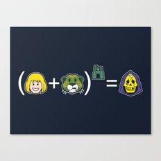 He-Math Canvas Print