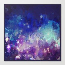 Sparkle Nights Canvas Print