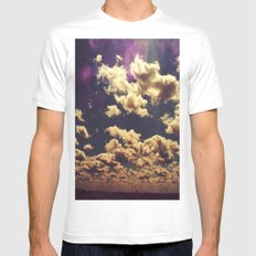 chicago the first Mens Fitted Tee White MEDIUM