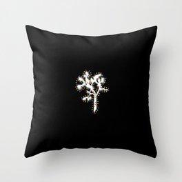 Joshua Tree Christmas by CREYES Throw Pillow