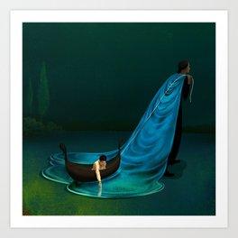"""Water"" by Brian Stauffer for Nautilus Art Print"