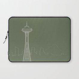 Seattle by Friztin Laptop Sleeve