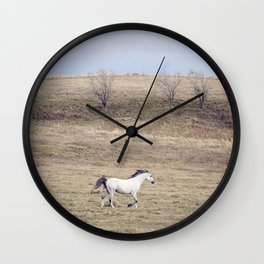 White Horse Gallop Wall Clock