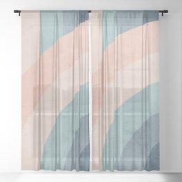 Only a Rainbow Sheer Curtain