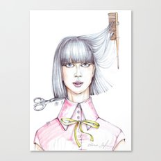 Haircut Canvas Print