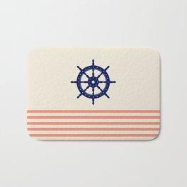 AFE Navy Helm Wheel Bath Mat
