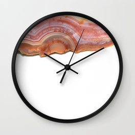 Over the agate rainbow Wall Clock