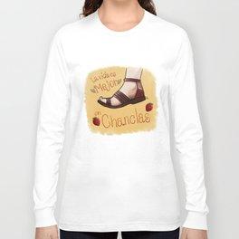La vida es mejor en chanclas Long Sleeve T-shirt