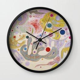 Wassily Kandinsky - Capricious Forms Wall Clock