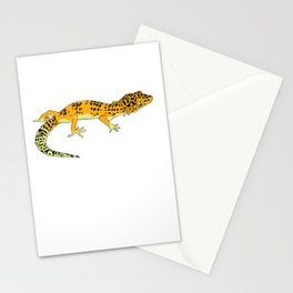 Exotic Gecko Stationery Cards