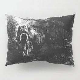 Black and white Jurassic period Pillow Sham