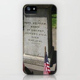 An American Hero iPhone Case