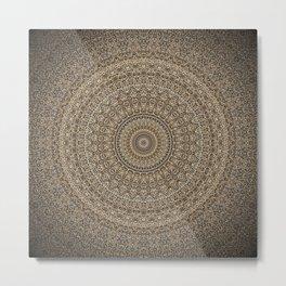 Infinite Mandala Metal Print
