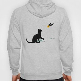 Cat and Snitch Hoody