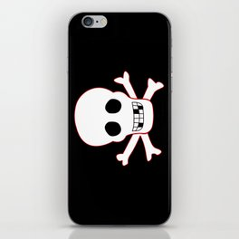 Pirate flag iPhone Skin