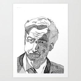 jimm mcgill - better call saul - abstract Art Print