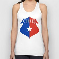 chile Tank Tops featuring Chile by jekonu