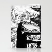tokyo Stationery Cards featuring Tokyo by Jonas Ericson