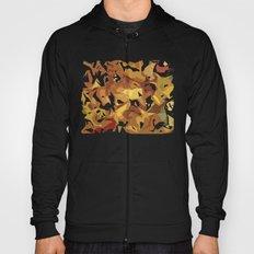 Fall's colors pattern Hoody