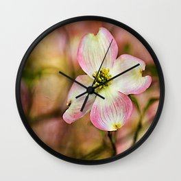 Blooms of Spring Wall Clock