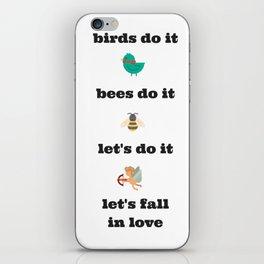 birds do it iPhone Skin