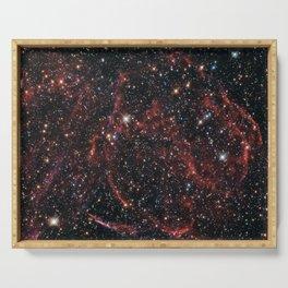 Hubble Space Telescope - A long-dead star Serving Tray