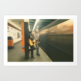 simon and garfunkel - wednesday morning, 3am - Art Print