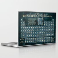 periodic table Laptop & iPad Skins featuring periodic table of elements by Bekim ART