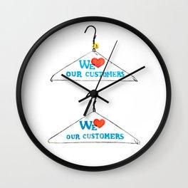 Hanger Appeal Wall Clock