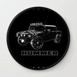Hummer H1 Shirt Wall Clock