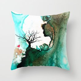 Love Has No Fear - Art By Sharon Cummings Throw Pillow