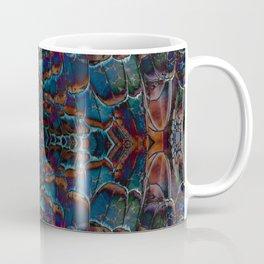 Feather fusion geometry VI Coffee Mug