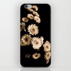 FLOWERS III iPhone & iPod Skin
