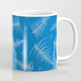 Frosted Fronds & Berries Coffee Mug